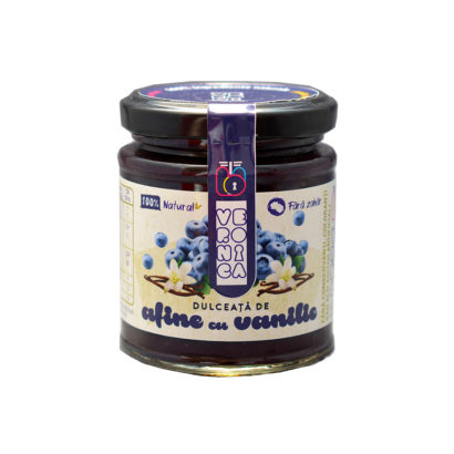 dulceata de afine cu vanilie fara zahar
