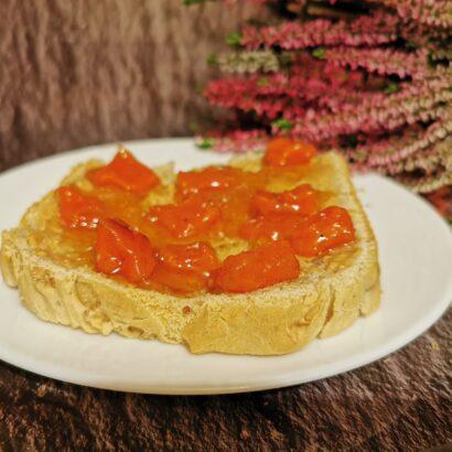 dulceata de dovleac cu portocale si vin alb